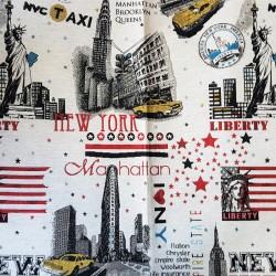завеса/дамаска в неутрални тонове със свежи цветни акценти Danjo New York