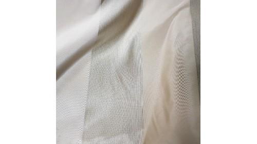 завеса  с райета в топла бежово- кафява гама Мартекс
